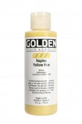 Golden FLUID COLORS, Neapelgelb imitiert