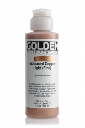 Golden FLUID IRIDESCENT, Kupfer hell (fein)