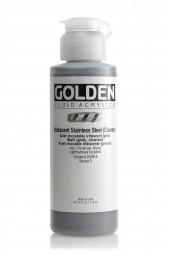Golden FLUID IRIDESCENT, Edelstahl (gröber)