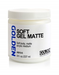 Golden GEL MEDIUMS, soft gel (matte)