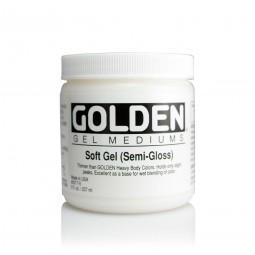 Golden GEL MEDIUMS, soft gel (semi-gloss)