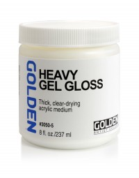 Golden GEL MEDIUMS, Heavy Gel (gloss)