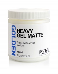Golden GEL MEDIUMS, Heavy Gel (matte)