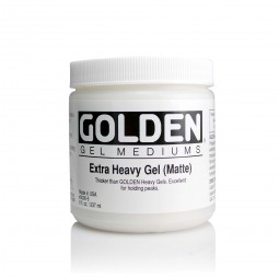 Golden GEL MEDIUMS, extra heavy gel (matte)