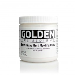 Golden GEL MEDIUMS, Extra Heavy / Molding Paste