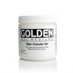 Golden GEL MEDIUMS, Extra Coarse Clear Granular Gel
