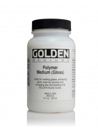 Golden MEDIUMS & ADDITIVES, Polymer Medium Gloss