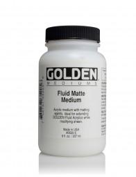 Golden MEDIUMS & ADDITIVES, Fluid Matte Medium