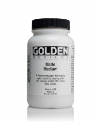 Golden MEDIUMS & ADDITIVES, Matte Medium