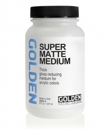 Golden MEDIUMS & ADDITIVES, Super-Loaded Matte Medium