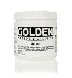 Golden GESSOS & GROUNDS, Gesso, Standardgrundierung