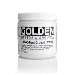Golden GESSOS & GROUNDS, absorbant ground (white)