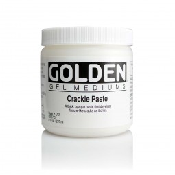 Golden - Crackle Paste