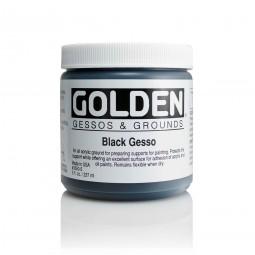 Golden GESSOS & GROUNDS, Black Gesso