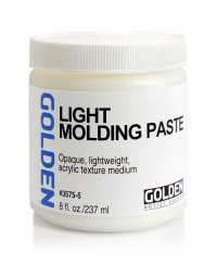 Golden GEL MEDIUMS, Light Molding Paste
