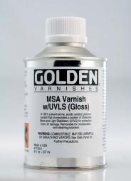 Golden VARNISH MSA Gloss (w/UVLS)