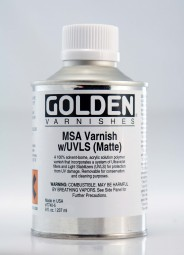 Golden VARNISH MSA Matte (w/UVLS)