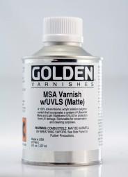 Golden MSA Varnish Matte (w/UVLS)