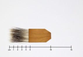 Anschießer für Blattgold, Dachshaare, Gr. 1½ Zoll