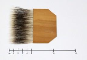 Anschießer für Blattgold, Dachshaare, Gr. 3½ Zoll
