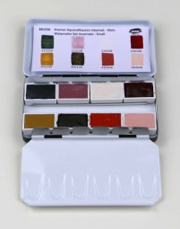 Kremer Watercolor Set Incarnate - Small