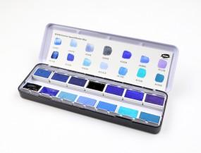 Kremer Aquarellkasten Blau