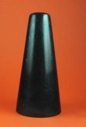 Reibestein aus schwarzem schwedischen Granit