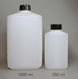 PE-Flasche 250 ml, Enghals