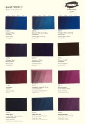 Farbkarte Kremer Pigmente - Blaue Farben