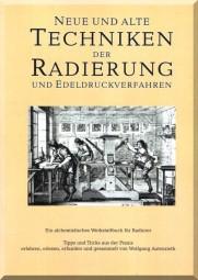 W. Autenrieth: Neue und alte Techniken der Radierung...