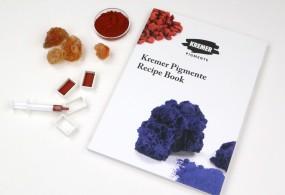 Kremer Pigmente Recipe Book in English