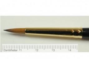Retouchierpinsel, kompakte Spitze, Gr. 5
