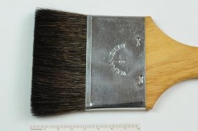 Flat Brush, Squirrel, No. 2 inch