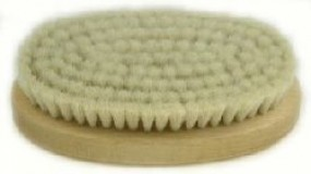 Handbürste oval, 135/70 mm