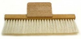Duster with grip, 15 cm long, 1 row
