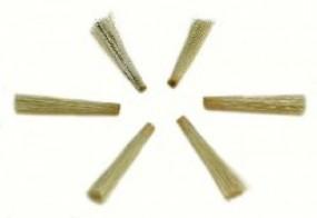 Ersatzbündel Schweineborsten für Glasfaser-Radierstifte
