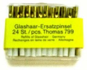 Ersatzbündel Glasfaser für Glasfaser-Radierstifte