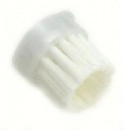 Pinselbürste einzeln, Nylonhaar weiß