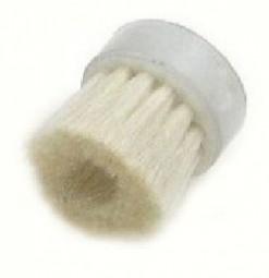 Pinselbürste einzeln, Ziegenhaar weiß