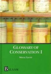 Mireia Xarrie Balaam - Glossary of Conservation I