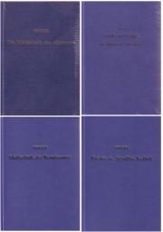 E. Berger: 1.-5. Folge - Beiträge zur Entwicklungsgeschichte