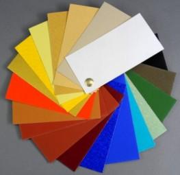 Farbfächer Kremer Pigmente - Wand