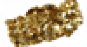 Golden Iridescent Gold Glimmer (fein)