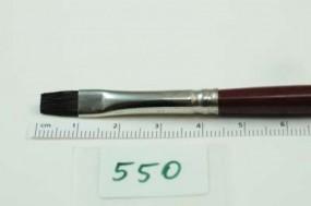 Gussow-Ölmalpinsel, flach, Iltishaare, Gr. 6