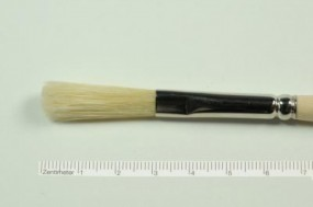 Fresco Brush, oval, No. 22