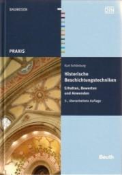 Kurt Schönburg: Historische Beschichtungstechniken